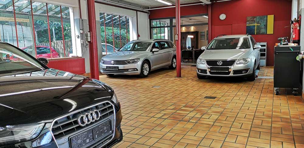 Werkstatt von Herz Automobile in Sankt Augustin